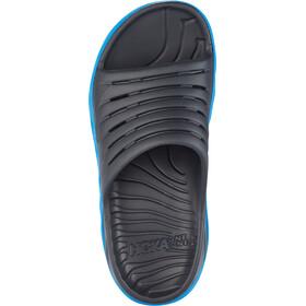 Hoka One One Ora Recovery Slide Sandały Kobiety, ebony/dresden blue